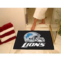 "Click here to learn more about the Detroit Lions All-Star Mat 33.75""x42.5""."