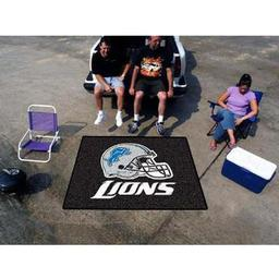 Click here to learn more about the Detroit Lions Tailgater Rug 5''x6''.