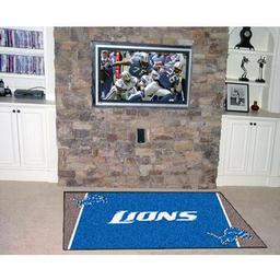 Click here to learn more about the Detroit Lions Rug 5''x8''.