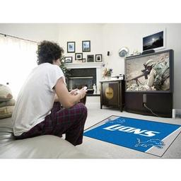 Click here to learn more about the Detroit Lions Rug 4''x6''.