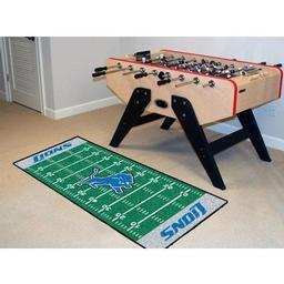 "Click here to learn more about the Detroit Lions Runner 30""x72""."