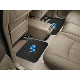 "Click here to learn more about the Detroit Lions Backseat Utility Mats 2 Pack 14""x17""."