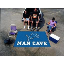 Click here to learn more about the Detroit Lions Man Cave UltiMat Rug 5''x8''.