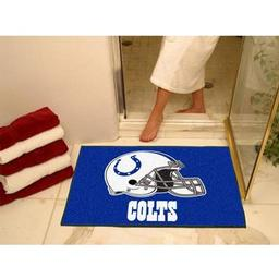 "Click here to learn more about the Indianapolis Colts All-Star Mat 33.75""x42.5""."