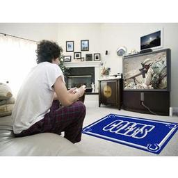 Click here to learn more about the Indianapolis Colts Rug 4''x6''.