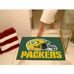 "Click here to learn more about the Green Bay Packers All-Star Mat 33.75""x42.5""."