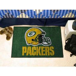 "Click here to learn more about the Green Bay Packers Starter Rug 20""x30""."