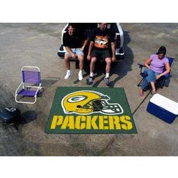 Click here to learn more about the Green Bay Packers Tailgater Rug 5''x6''.