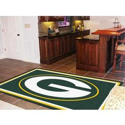 Click here to learn more about the Green Bay Packers Rug 5''x8''.