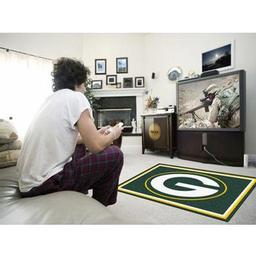 Click here to learn more about the Green Bay Packers Rug 4''x6''.