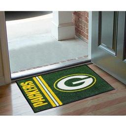 "Click here to learn more about the Green Bay Packers Uniform Inspired Starter Rug 20""x30""."