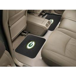 "Click here to learn more about the Green Bay Packers Backseat Utility Mats 2 Pack 14""x17""."