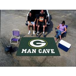 Click here to learn more about the Green Bay Packers Man Cave UltiMat Rug 5''x8''.