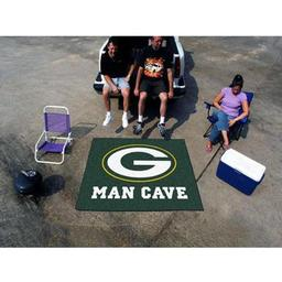 Click here to learn more about the Green Bay Packers Man Cave Tailgater Rug 5''x6''.