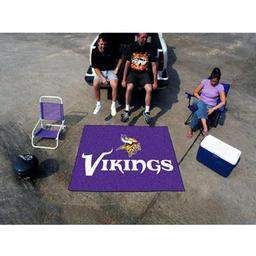 Click here to learn more about the Minnesota Vikings Tailgater Rug 5''x6''.