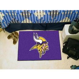 "Click here to learn more about the Minnesota Vikings Starter Rug 20""x30""."