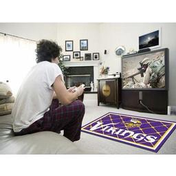 Click here to learn more about the Minnesota Vikings Rug 4''x6''.