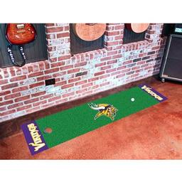 Click here to learn more about the Minnesota Vikings PuttingNFL - Green Runner.
