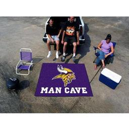 Click here to learn more about the Minnesota Vikings Man Cave Tailgater Rug 5''x6''.