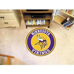 Click here to learn more about the Minnesota Vikings Roundel Mat.