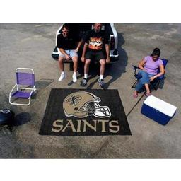 Click here to learn more about the New Orleans Saints Tailgater Rug 5''x6''.