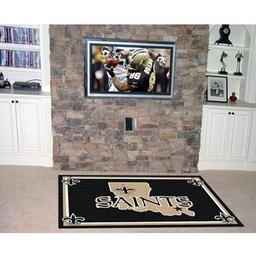 Click here to learn more about the New Orleans Saints Rug 5''x8''.