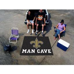 Click here to learn more about the New Orleans Saints Man Cave Tailgater Rug 5''x6''.