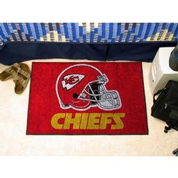 "Click here to learn more about the Kansas City Chiefs Starter Rug 20""x30""."