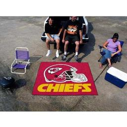 Click here to learn more about the Kansas City Chiefs Tailgater Rug 5''x6''.