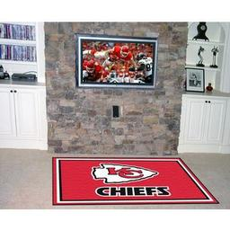 Click here to learn more about the Kansas City Chiefs Rug 5''x8''.