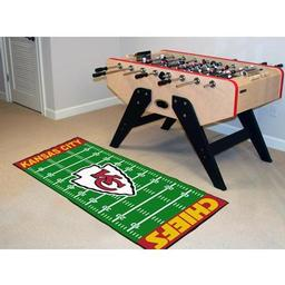 "Click here to learn more about the Kansas City Chiefs Runner 30""x72""."