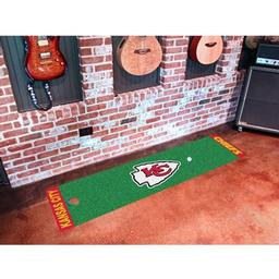 Click here to learn more about the Kansas City Chiefs PuttingNFL - Green Runner.