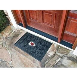 Click here to learn more about the Kansas City Chiefs Medallion Door Mat.