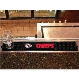 "Click here to learn more about the Kansas City Chiefs Drink Mat 3.25""x24""."