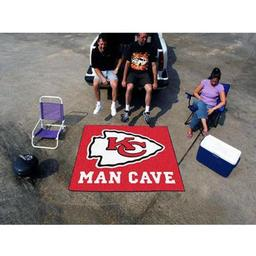 Click here to learn more about the Kansas City Chiefs Man Cave Tailgater Rug 5''x6''.