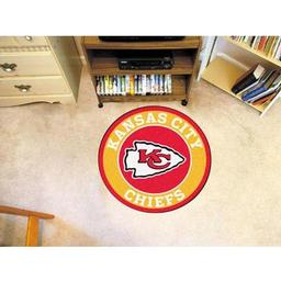 Click here to learn more about the Kansas City Chiefs Roundel Mat.