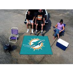 Click here to learn more about the Miami Dolphins Tailgater Rug 5''x6''.