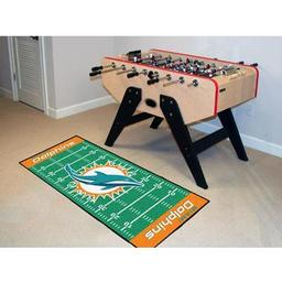 "Click here to learn more about the Miami Dolphins Runner 30""x72""."