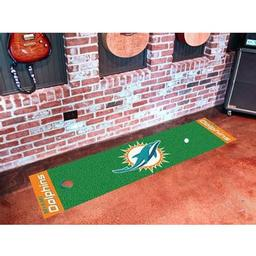 Click here to learn more about the Miami Dolphins PuttingNFL - Green Runner.
