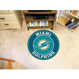 Click here to learn more about the Miami Dolphins Roundel Mat.