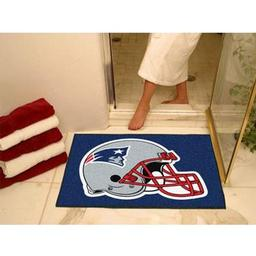 "Click here to learn more about the New England Patriots All-Star Mat 33.75""x42.5""."