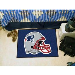 "Click here to learn more about the New England Patriots Starter Rug 20""x30""."
