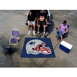 Click here to learn more about the New England Patriots Tailgater Rug 5''x6''.