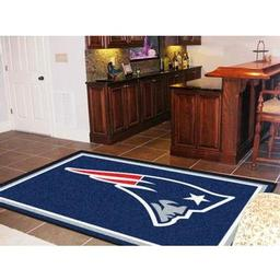 Click here to learn more about the New England Patriots Rug 5''x8''.
