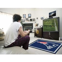 Click here to learn more about the New England Patriots Rug 4''x6''.