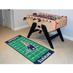 "Click here to learn more about the New England Patriots Runner 30""x72""."