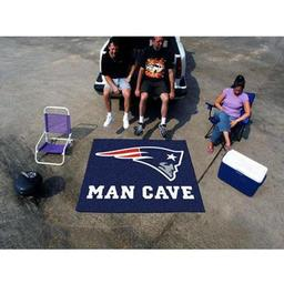 Click here to learn more about the New England Patriots Man Cave Tailgater Rug 5''x6''.
