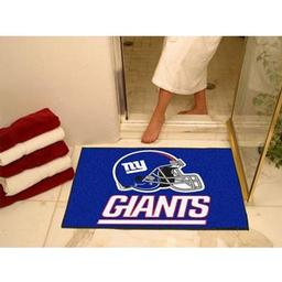 "Click here to learn more about the New York Giants All-Star Mat 33.75""x42.5""."
