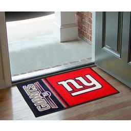 "Click here to learn more about the New York Giants Uniform Inspired Starter Rug 20""x30""."