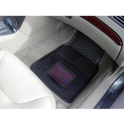 "Click here to learn more about the New York Giants Heavy Duty 2-Piece Vinyl Car Mats 17""x27""."